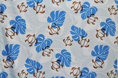 CAB0054 - 100% Cotton Fabric: Hawaiian Print Fabric