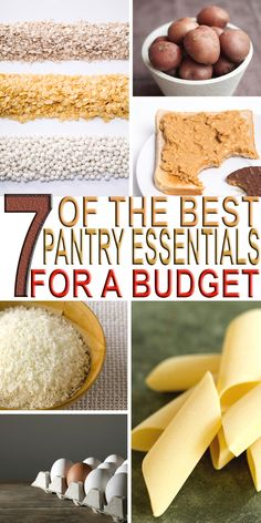 On a budget and about to bust your grocery budget? The good news that you don't have to when you have these 7 of the best pantry essentials for a budget.
