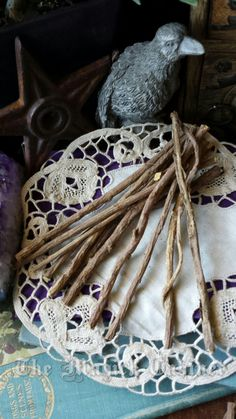 Licorice Roots, Wood Wand, Pagan Supply, Pagan, Wiccan, Ritual Supply, Herbs, Natural Licorice Herb, Natural Herbs, Pagan Supply