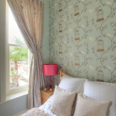 Bird Cage Wallpaper Design, Pictures, I think this sets the whole mood of the room I want to create