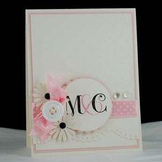 Bridal shower or wedding card