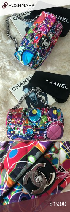 e912c8ae3f5 Chanel Kaleidoscope-quilted bag Mint condition 🔥 Chanel Circa 2006-2008  classic flap bag