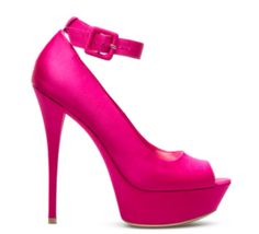 Hot pink #1.... My favorite color heel!