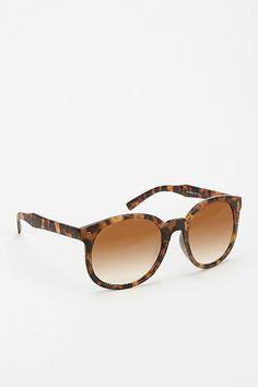 Night And Day Oversized Round Sunglasses