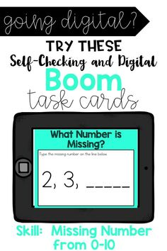 Missing Number up to 10 Interactive Activities, Teaching Resources, Math Activities, Teaching Ideas, Flipped Classroom, Classroom Ideas, Google Classroom, Primary Classroom, Addition And Subtraction