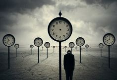 """Hours and clouds. When the clock does not mark the hours. Suspension in time. (Photo Manipulation by Norvz Autriche or """"The Time Traveler"""" by Norvhic Fernandez) ? Surrealism Photography, Conceptual Photography, Art Photography, Artistic Photography, Art Bizarre, Weird Art, Strange Art, Surreal Artwork, Surreal Photos"""