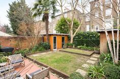 A mews house, which was an early project by two of the world's leading architects, has come on the market on what is arguably the most impressive street in Camden for Modern architecture. West Facing Garden, Mews House, Camden, Modern Architecture, 1960s, World, House Styles, Outdoor Decor, Houses