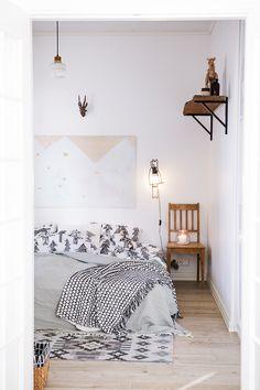 Claves para conseguir un dormitorio bicolor con buen diseño gráfico
