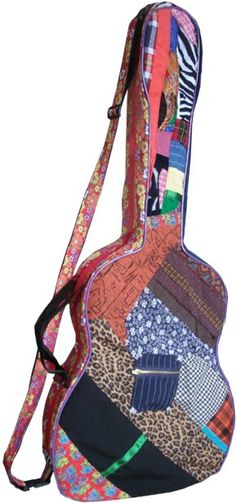 Now I want a guitar just so I can sew a guitar case