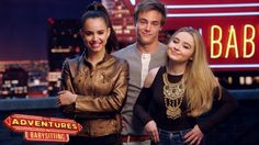 Go behind the scenes of Adventures in Babysitting with Sabrina Carpenter, Sofia Carson and Kevin Quinn! Premieres Friday, June on Disney Channel! Adventures In Babysitting Disney, Disney Channel Movies, Disney Videos, Kevin Quinn, Netflix, Sophia Carson, Good Movies, Awesome Movies, Sabrina Carpenter