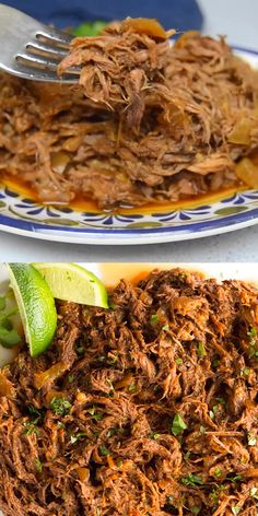 Instant pot recipes 211528513736797175 - This all purpose Slow Cooker Mexican Shredded Beef is great for tacos, burritos and more! Quick and easy prep work and the crock pot does the rest. Shredded Beef Recipes, Mexican Shredded Beef, Ground Beef Recipes, Shredded Beef Tamales Recipe, Taco Bell Shredded Chicken Recipe, Shredded Beef Chimichanga Recipe, Shredded Beef Tacos Crockpot, Chicken Tinga Recipe, Shredded Beef Enchiladas