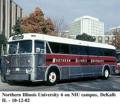 Northern  Illinois  University  bus