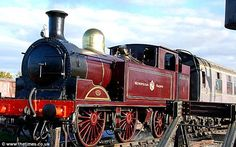 victorian era train images | Steam train to go underground again as Tube marks anniversary of first ...