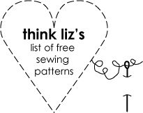 Free Sewing Patterns  Tons of patterns for dresses, purses, baby, etc