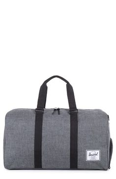 Free shipping and returns on Herschel Supply Co. 'Novel' Duffel Bag at Nordstrom.com. Durable, water-resistant canvas shapes a compact duffel bag touched with earthy leather details.