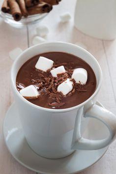 Mug of hot chocolate with marshmallow. Food photography, food photo, food styling, foodporn, food images, food pics, Food pictures #food #foodphotography #foodporn #foodstyling #foodstylist #foodie #foodfoto #chocolate