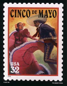 Conmemoracion de La Batalla de Puebla, en la que Mexico se batio en contra del Ejercito Frances, en 1862, saliendo victoriosos los Mexicanos