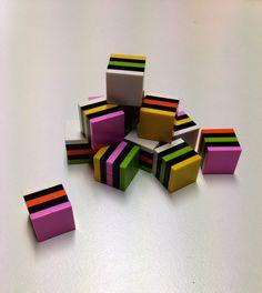 Lego licorice all-sorts by tikitikitembo, via Flickr