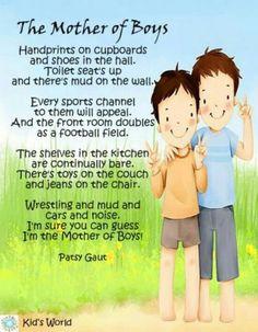 Mom of boys