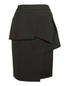 The Origami Skirt #black #blue #vendor-greedilous