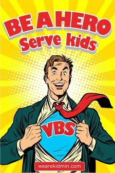 VBS hero, VBS recruitment poster