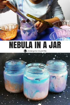 Have kids that love learning about space? Or any star wars fans? This nebula in a jar craft is fun and simple to make!