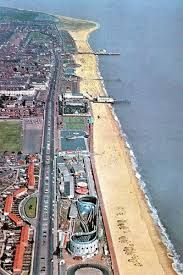 """Great Yarmouth's seafront known as """"The Golden Mile"""" attracts millions of visitors each year to its sandy beaches.  The town has been a seaside resort since 1760, and is the gateway from the Norfolk Broads to the North Sea.  Great Yarmouth is located 20 miles east of Norwich, England."""