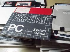 Amstrad PC system discs