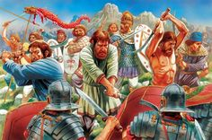 Charge of the Dacians