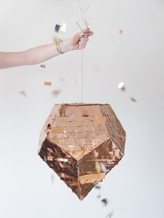 It's not too early to order your New Year's Eve piñata (what, you didn't know you needed one?). #etsyfinds