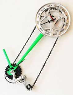 A clock by The Recycler