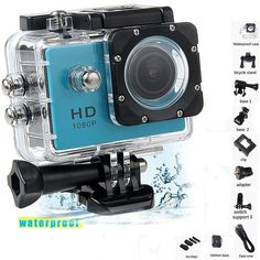 1080P HD Outdoor Mini Sport Action Camera Waterproof IP Camera Cam DV gopro