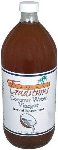 Raw Coconut Water Vinegar - 32 oz. bottle