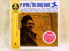 CD/Japan- BOOKER ERVIN The Song Book w/OBI RARE MINI-LP LIMITED Tommy Flanagan #BebopPostBop