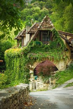 Rocamadour, France / beautiful cottage