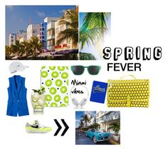 """Spring: Second thoughts vol.1 (a little bit of 90's funky Miami)"" by stevi-tsoupress on Polyvore featuring art"
