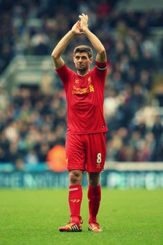 ~ Steven Gerrard of Liverpool FC against Newcastle United FC ~