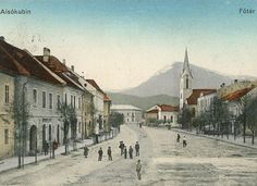 Dolný Kubín -1903 City, Painting, Picasa, Painting Art, Paintings, City Drawing, Cities