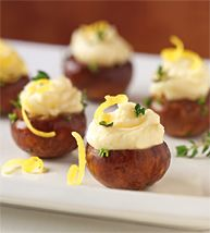 9-marinated.jpg 193×214 pixels Marinated Mushrooms filled with Soft Saint Andre Cheese