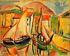 Albert Marquet:  Fishing Boats-1906