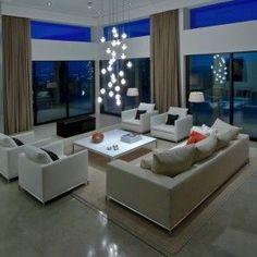 Ultra modern home decor.