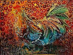 How Do You Batik | little rooster batik is an original batik painting by m baldwin c2006 ...