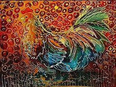 LITTLE ROOSTER BATIK by Marcia Baldwin