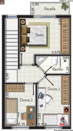 Arquiteturas on pinterest - Modelos de casas de una planta ...