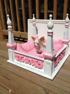 princess dog beds | Posh Puppy Princess Dog Bed diy