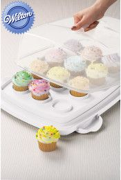 Wilton 3 in 1 Cake Caddy with Cupcake Tray Our Price: $39.95