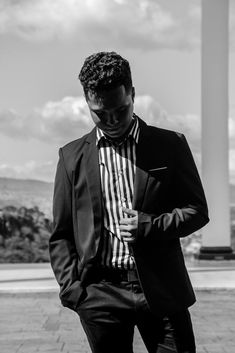 11 Breathtaking Work Outfits Snapshots Greyscale Photo Of Man Wearing Tuxedo Fashion Brand, Mens Fashion, Fashion Outfits, Casual Wear For Men, Mens Clothing Styles, Apparel Clothing, Fashion Group, Western Outfits, Man Photo