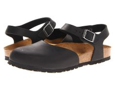 Birkenstock Messina Black Oiled Leather - Zappos.com Free Shipping BOTH Ways