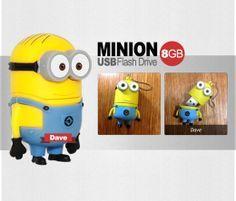 Gb Usb 2 0 Minions Usb Flash Drive