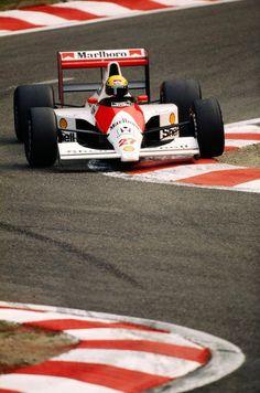 Ayrton Senna McLaren / Honda Spa 1990